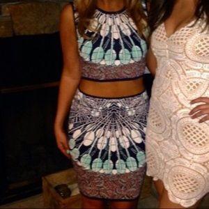 BCBG Max Azria XS Top Medium Skirt